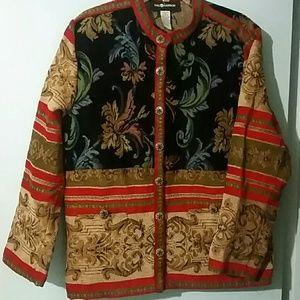 Sag Harbor Brocade Jacket 14